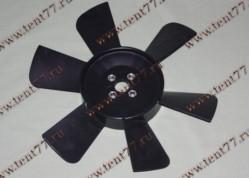 Вентилятор  двигатель 402, 406 ( 6 лопастей) нового образца Оригинал