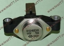 Регулятор напряжения Газель 3302 двигатель 406 ген, 5122.3771с ЩУ