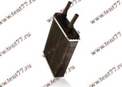 Радиатор отопитопителя Газель 3102, 31029, 3110 (ф=16mm) 2-х ряд (до 2003 г/в) алюм.