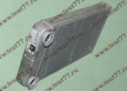 Радиатор отопитопителя Газель  NEXT алюминиевый Лузар
