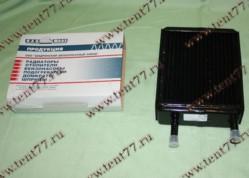 Радиатор отопителя Газель 3302 (ф=16mm) 3-х ряд (до 2003 г/в) медный