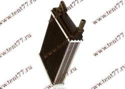 Радиатор отопителя Газель 3221  отопителя  дополнит  (ф=16mm) штуцер-крючок алюм.