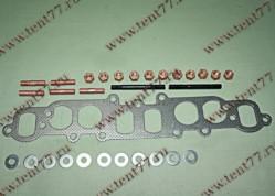 Прокладка коллектора двигатель 4216,4213 (газопровода) метал. в сборе (с крепеж)