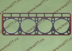 Прокладка ГБЦ  Газель двигатель 402 (треуг.отв) с герметиком