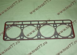 Прокладка ГБЦ  двигатель 402 (треуг.отв) с герметиком КНК/Орел/