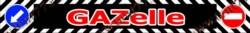 Брызговик бруса задний Газель 3302  длинномер  (2050x320мм)  Газель красный