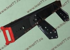 Брус заднего фонаря противоподкатный Газель 33104 в сборе с боковиной